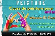 Cours de peinture pour les jeunes