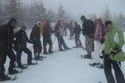 Snowshoeing in Arz Bakish with Footprints Nature Club