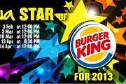 Ghinwa Star of Burger King for 2013