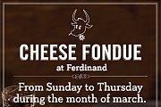 Fondue Night at Ferdinand