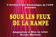 Sous les feux de la rampe de Nadine Mokdessi au Theatre Monnot