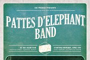 80s Night with Pattes d'elephant live every thursday