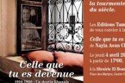 """Lancement et signature de """"Celle que tu es devenue"""" de Nayla Aoun Chkaiban"""