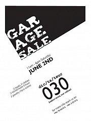 GARAGE SALE !