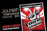 THE VOICE tour 2013: Concert of the 8 finalists in Lebanon! - Part of Jounieh International Festival 2013