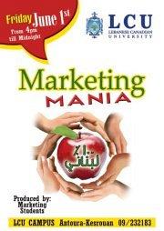 Marketing Mania 2012
