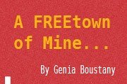 Book Launch & Signing: A FREEtown of Mine by Genia Boustany