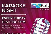 Karaoke Night at Peaks Resort - Feytroun