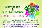 Kids workshop for Expression & Self Confidence