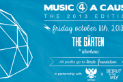 MUSIC 4 A CAUSE - THE 2013 EDITION