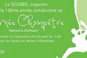 Journée Champêtre 2013 with Sesobel