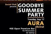 Social Club NDU Goodbye Summer Party
