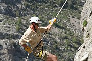 Rock climbing & Abseiling at Tannourine