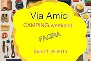 Faqra Camping Weekend with Via Amici