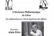Lebanese Philharmonic Orchestra (LPO) Concert with Alain Paris