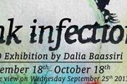 Ink Infection - Art Exhibition by Dalia Baassiri
