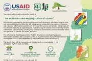 "The launch event of ""The Reforestation Web-Mapping Platform of Lebanon"""