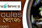 Open Moules et Frites Night at Eva Brown
