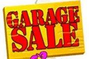 Garage Sale in the Garden!