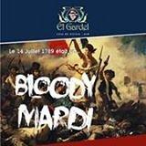 Bloody Mardi - French Night Every Tuesday at El Gardel