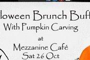 Halloween Brunch Buffet with Pumpkin Carving!