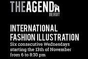 International Fashion Illustration - The Agenda Beirut