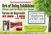 The 162st Live painting show with Bernard Renno in the Art of Living Exhibition 2013