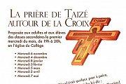 La priere de Taize autour de la Croix