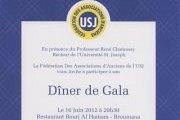 Diner de la Federation des Anciens de l'USJ