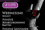 Fondue Night at E Café Sursock