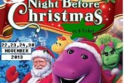 Barney Christmas Show  @ Talent Square Edutainment Studio