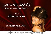 Christina singing live at CINQ every Wednesday