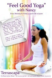 """WEEKLY """"Feel Good Yoga classes by the sea"""" at Rimal"""