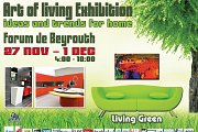 Flowerbox exhibiting at Art of Living 2013