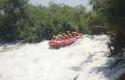 Whitewater Rafting on  Al-Assi River with HIKINGO