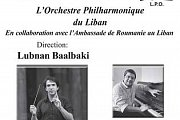 Lebanese Philarmonique Orchestra Concert with Lubnan Baalbaki