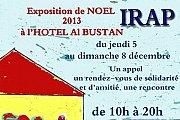 IRAP - Exposition de Noel 2013