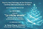 """Récital """"La Crèche Vivante"""" chanté par les enfants et jeunes du SESOBEL"""