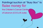 Art auction for the Children's cancer center of Lebanon