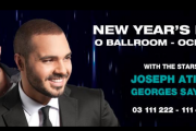 New Year's Eve 2014 at O Ballroom -  Ocean Blue