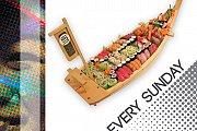 Open Sushi at Sushiwa - Every Sunday