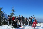 Snowshoeing Jored Tannourine with BYBLOS & BEYOND