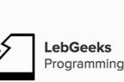 LebGeeks Programming Talks vol. 3