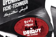 "Fiche-Technique ""Radio Beirut Opening Night"""