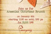 Armenian Christmas Brunch