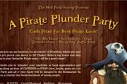 Pirate Plunder Party
