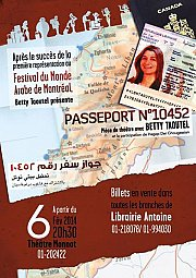 Passeport 10452 de Betty Taoutel - Theater Play