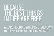 Open Shala - A Day of Free Yoga