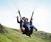 Paragliding Tandem Flight & Paragliding Course with Purple Pineapple Pot