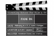 DIRECTING FILM & TV WORKSHOP